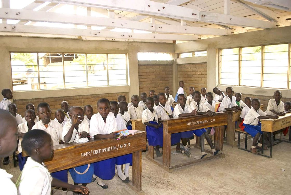 Photo of children in a classroom (Burere)