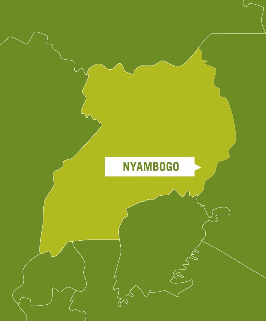 Nyambogo on a map