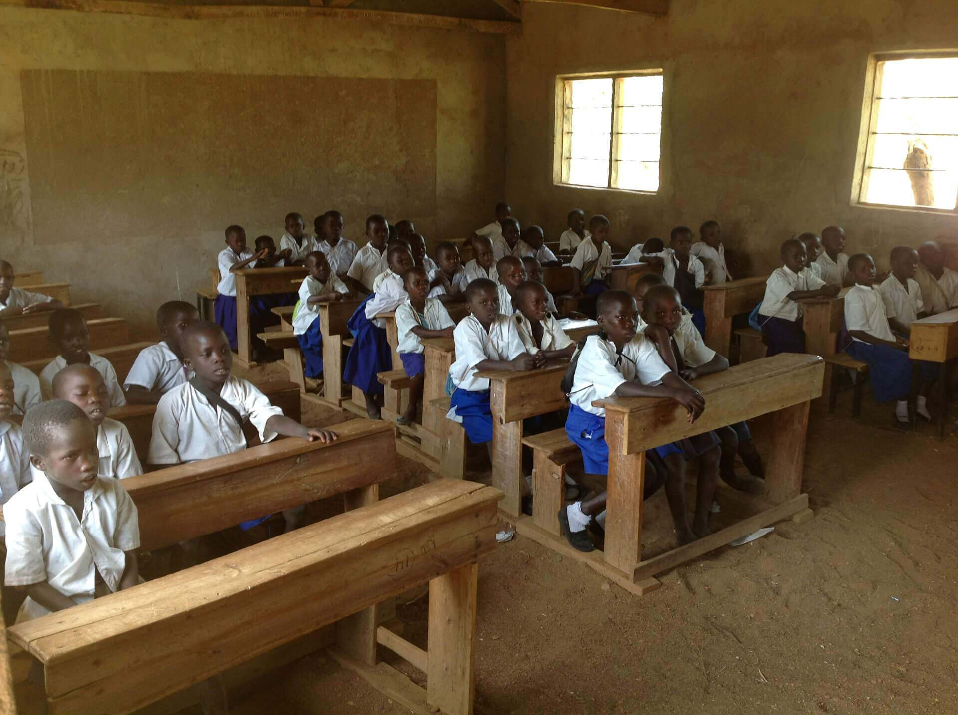 Photo of children in a classroom setting